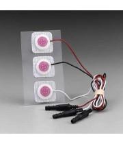 Електроди Red Dot 2282E рентгенопрозорі для ЕКГ моніторингу новонароджених з інтегрованими проводами